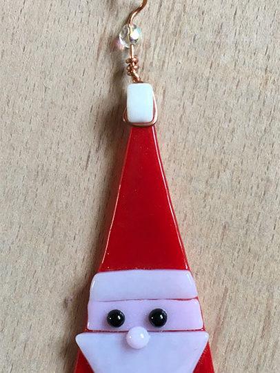 santa christmas tree hanger