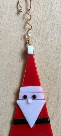 santa christmas tree hanger