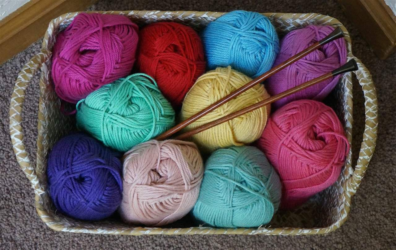 Knitting beginners course