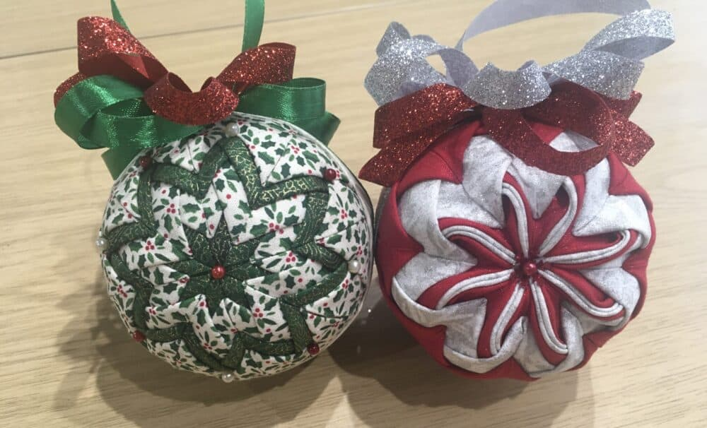 Quilted Ornaments workshop
